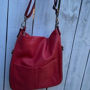ESPRIT CLASSIC TOTE IN RED